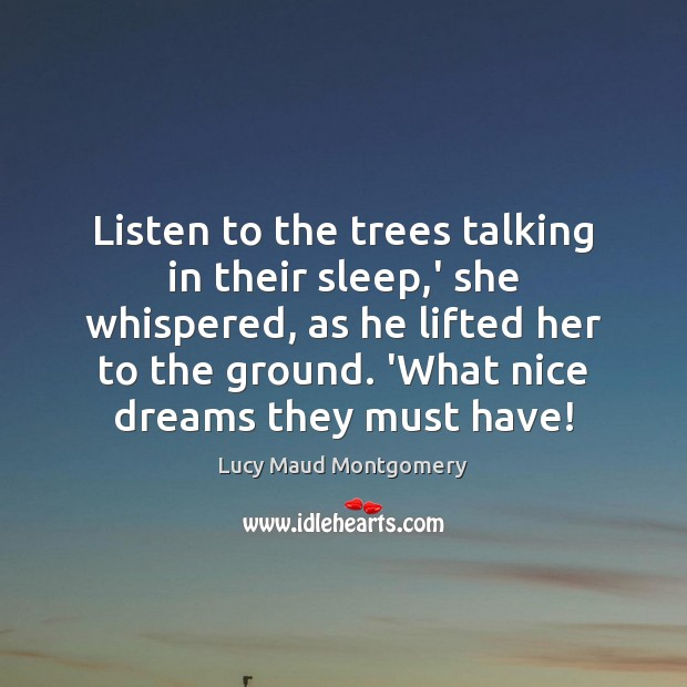 Picture Quote by Lucy Maud Montgomery