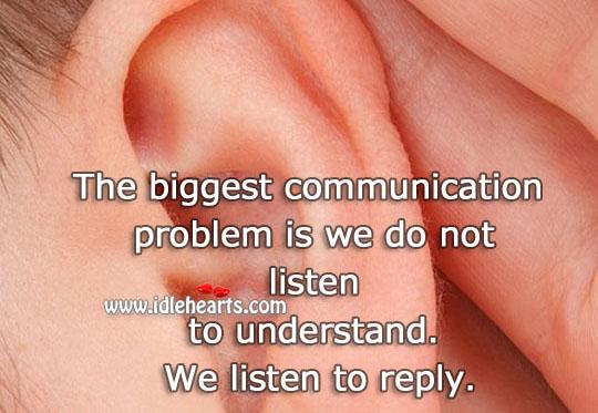 Image, Listen to understand