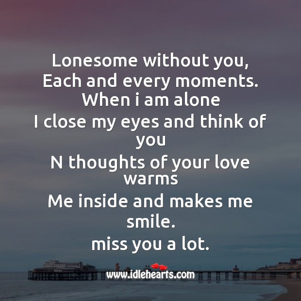 Lonesome without you Image