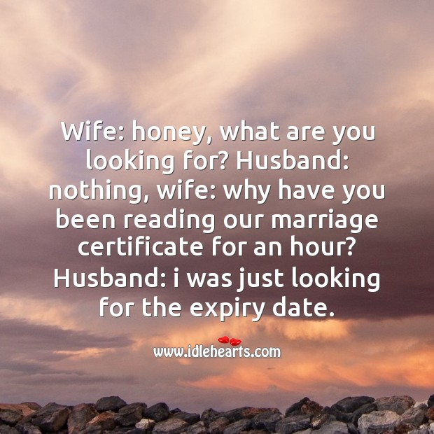 Looking for the expiry date Funny Messages Image