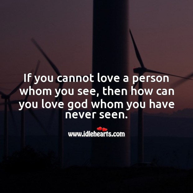 Love a person Love Messages Image