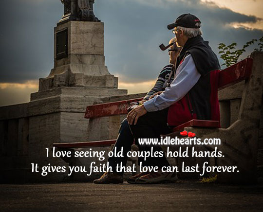 Love Can Last Forever.