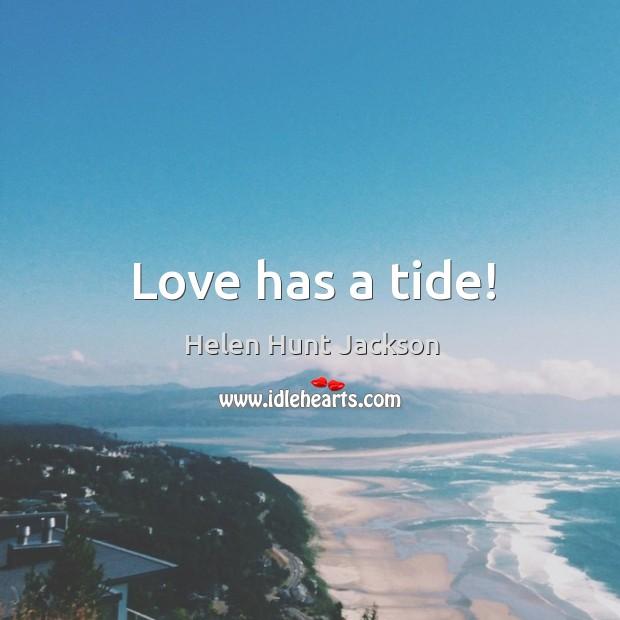 Love has a tide! Image