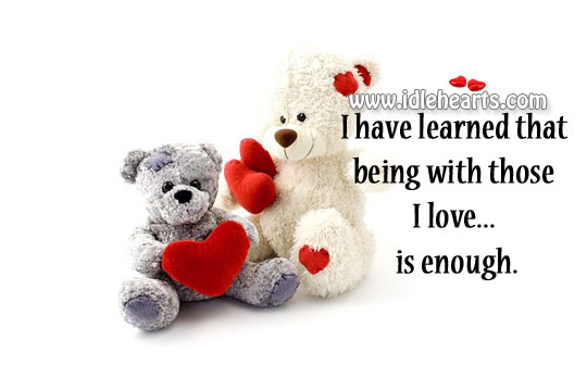 I Have Learned