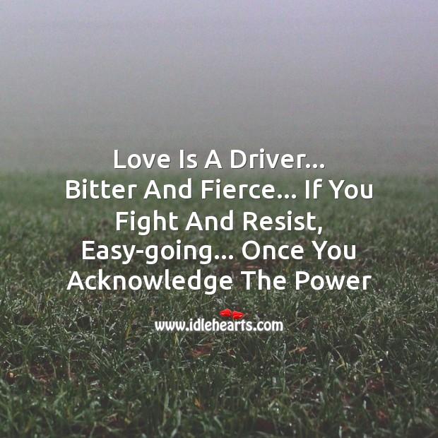 Image, Love is powerful