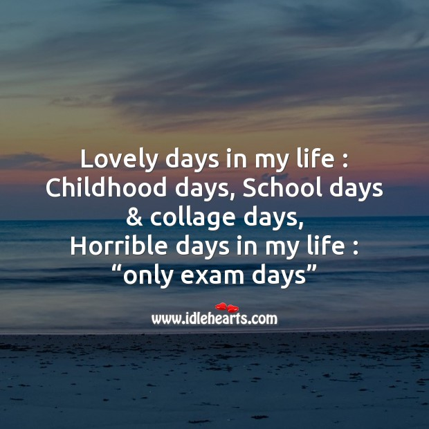 Lovely days in my life Image