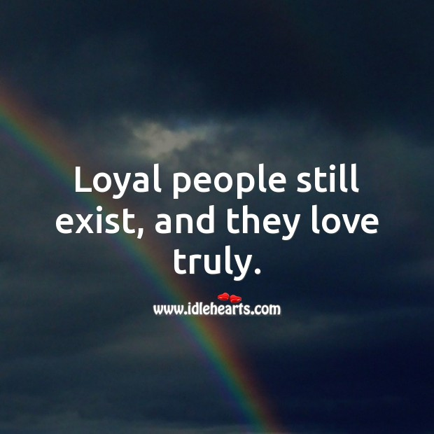 Image, Loyal people still exist, and they love truly.