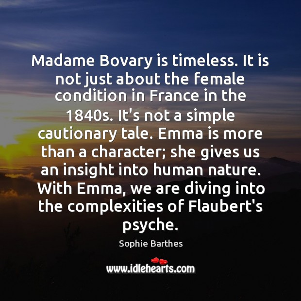 madame bovary essay questions