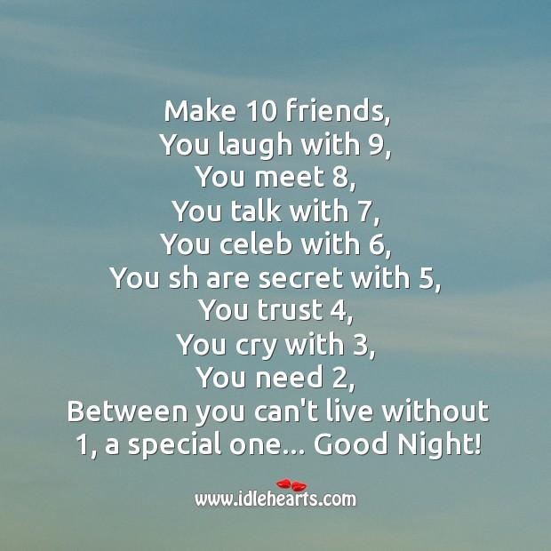Make 10 friends Image