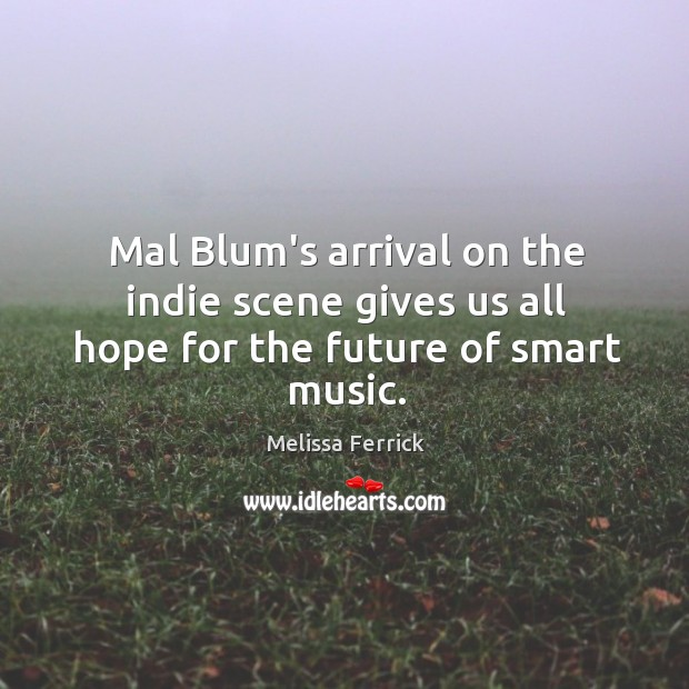 Mal Blum's arrival on the indie scene gives us all hope for the future of smart music. Image