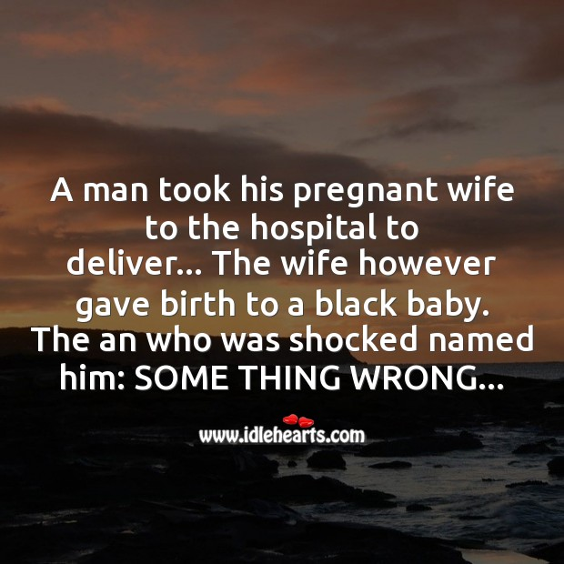 Man took his pregnant wife Funny Messages Image