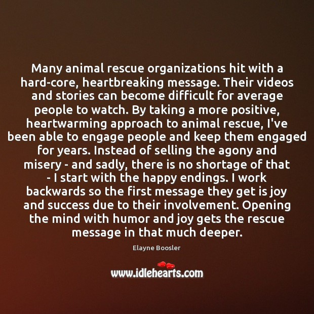 Image, Many animal rescue organizations hit with a hard-core, heartbreaking message. Their videos