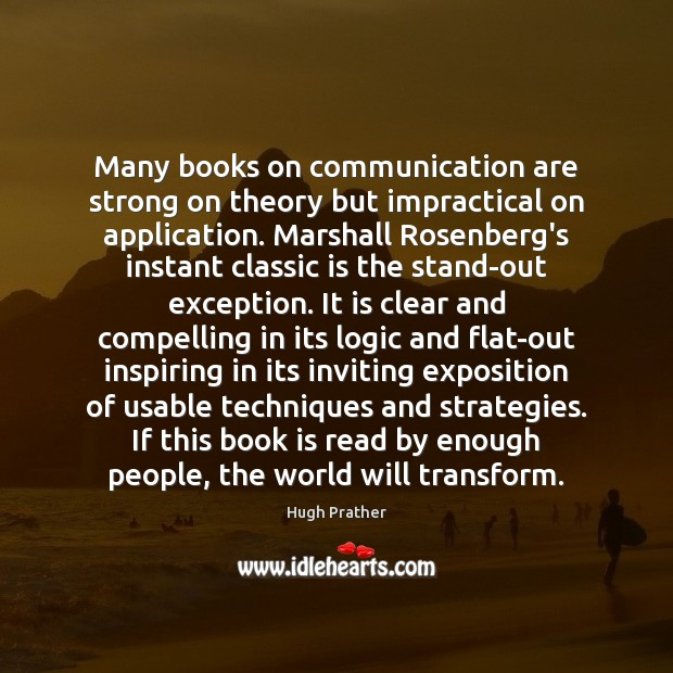 Many books on communication are strong on theory but impractical on application. Image