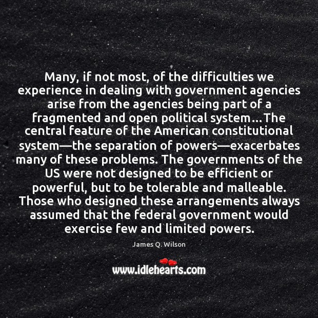 Image, Many, if not most, of the difficulties we experience in dealing with