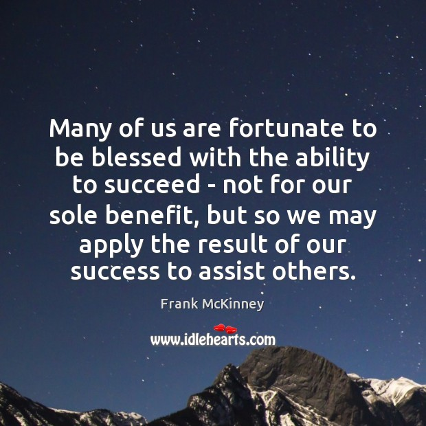 Image, Many of us are fortunate to be blessed with the ability to