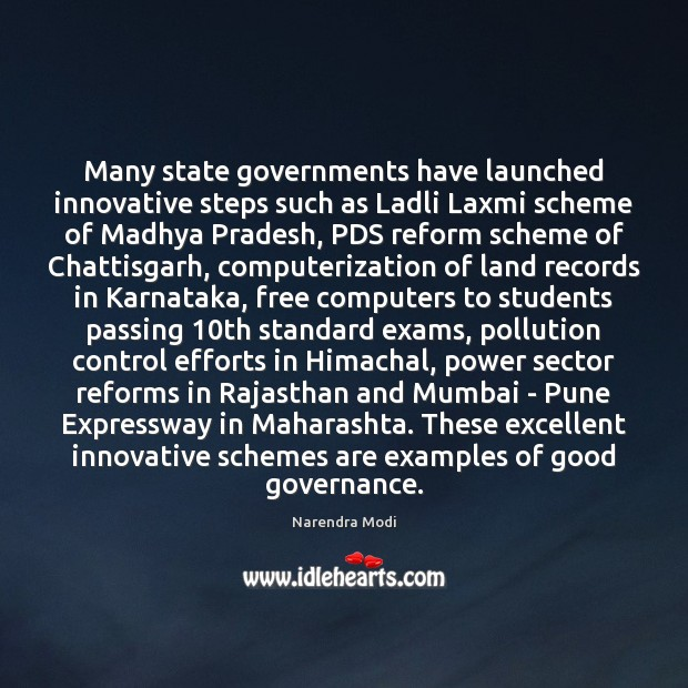 Many state governments have launched innovative steps such as Ladli Laxmi scheme Image