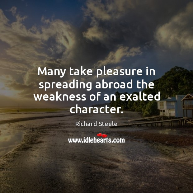 Picture Quote by Richard Steele