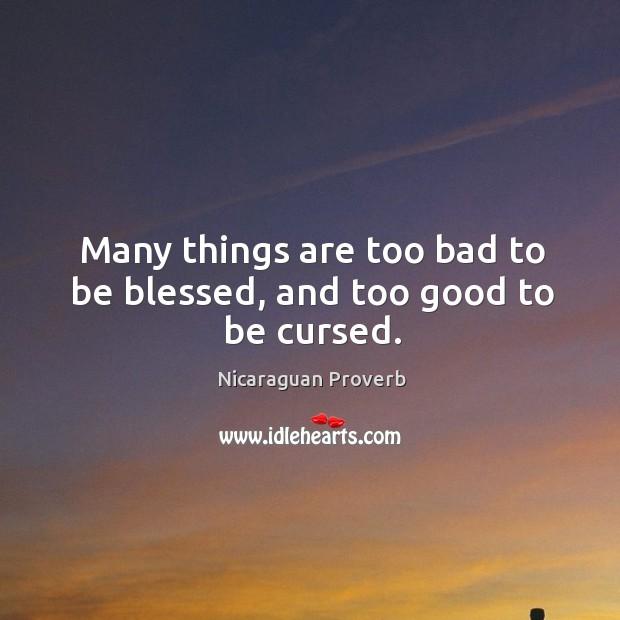 Nicaraguan Proverbs