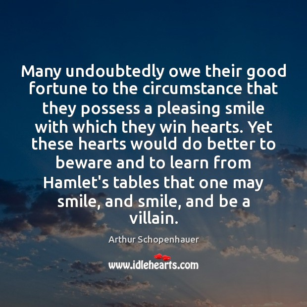 one may smile and smile and be a villain essay Shakespeare creates an anguished tone by repeating certain words in both hamlet's and the ghost that one may smile, and smile, and be a villain ask for details.