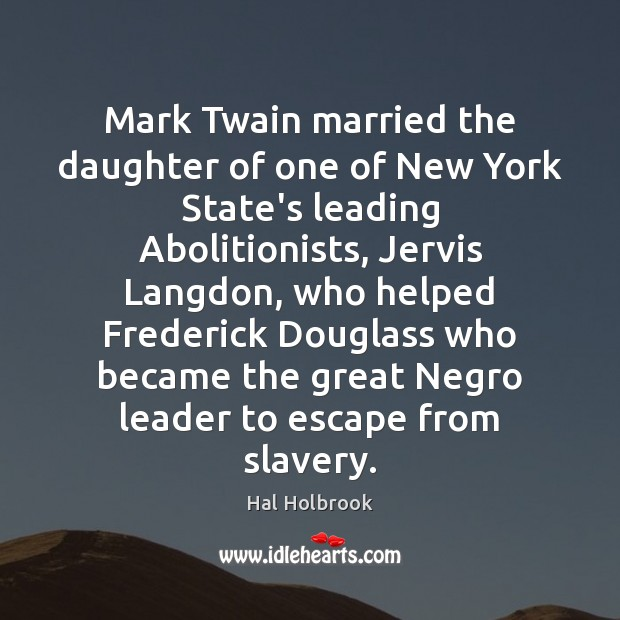 Image, Mark Twain married the daughter of one of New York State's leading