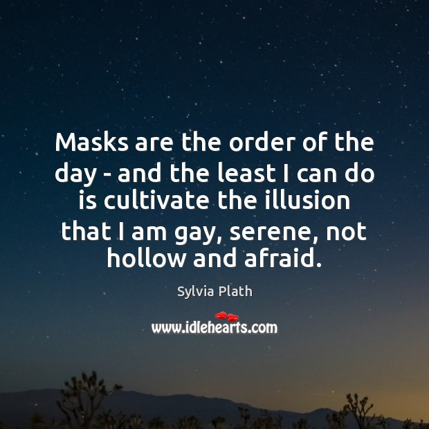 Image, Masks are the order of the day – and the least I