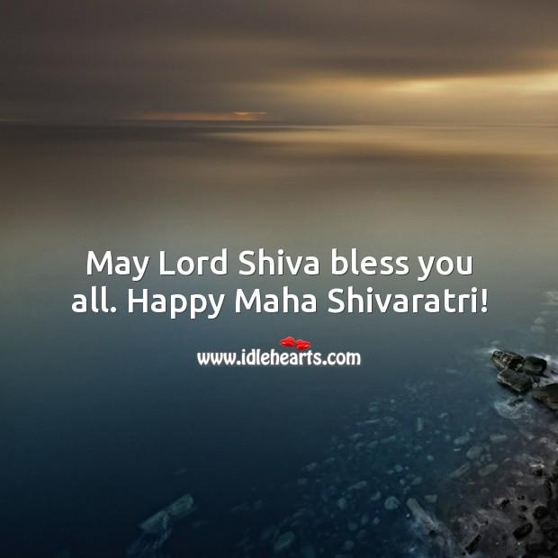 May Lord Shiva bless you all. Happy Maha Shivaratri! Image