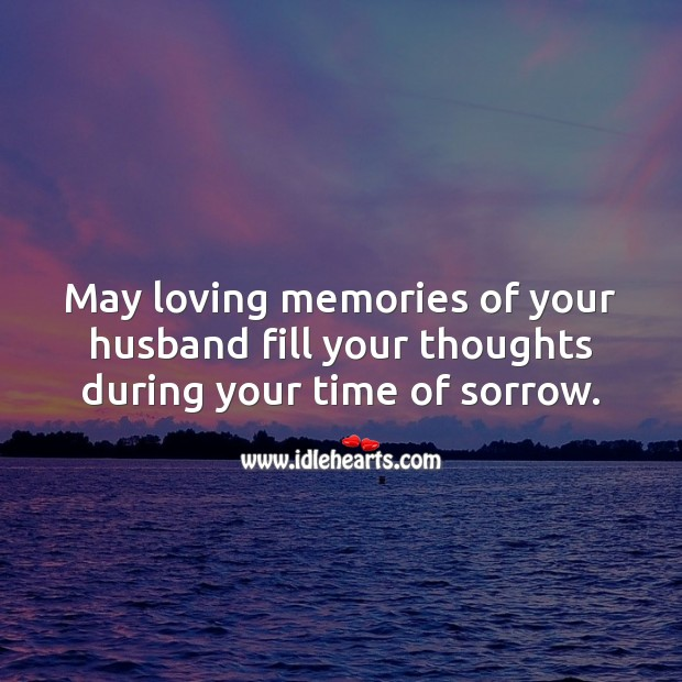 Sympathy Messages for Loss of Husband