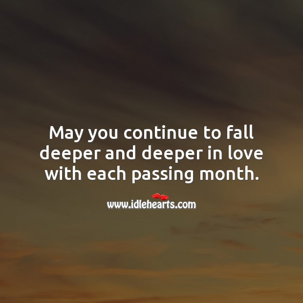 May you continue to fall deeper and deeper in love. Engagement Messages Image