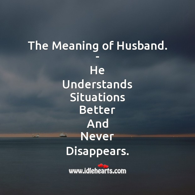 Full form of Husband. Picture Quotes Image