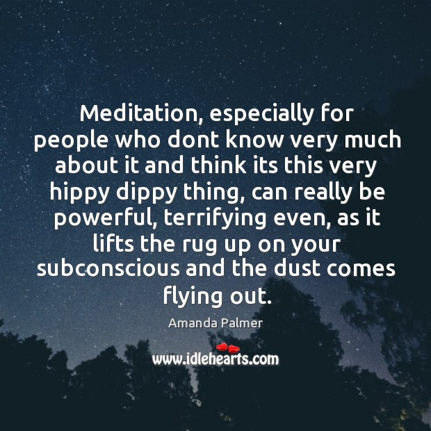 Image, Meditation, especially for people who dont know very much about it and