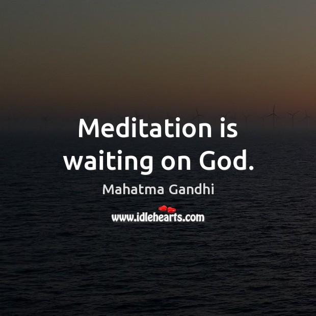 gandhis view on god