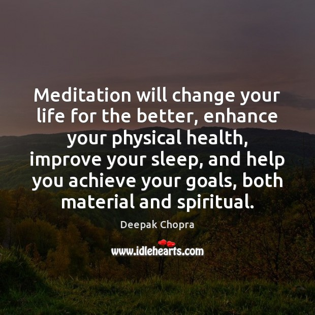 Meditation will change your life for the better, enhance your physical health, Image