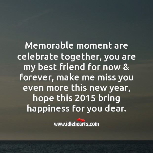 Memorable moments Happy New Year Messages Image
