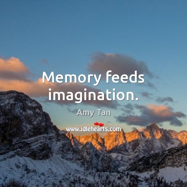 Memory feeds imagination. Image