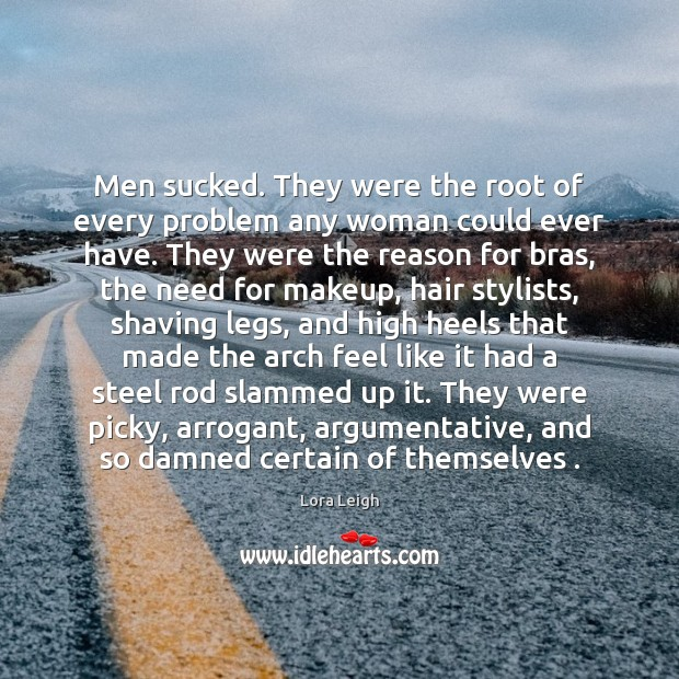 Image, Men sucked. They were the root of every problem any woman could