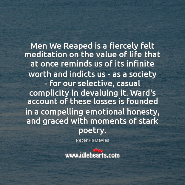 Men We Reaped is a fiercely felt meditation on the value of Image
