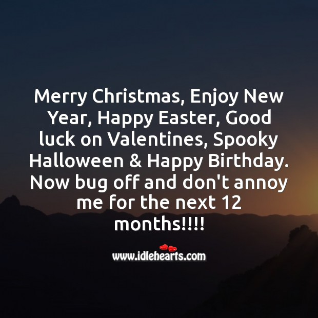 Merry christmas, enjoy new year Image