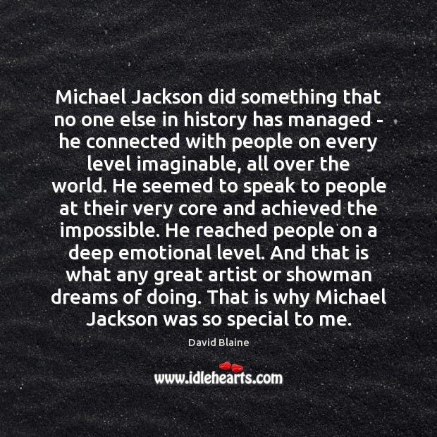 Michael Jackson did something that no one else in history has managed Image