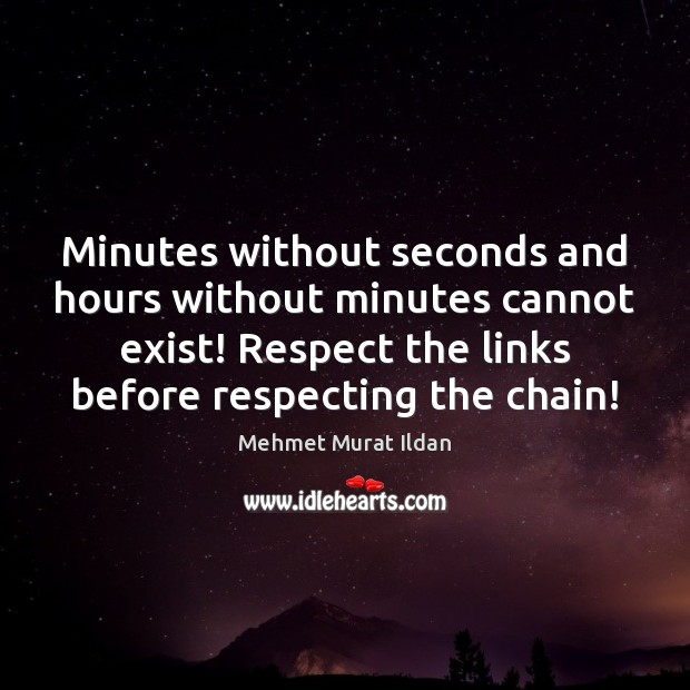 Image, Minutes without seconds and hours without minutes cannot exist! Respect the links