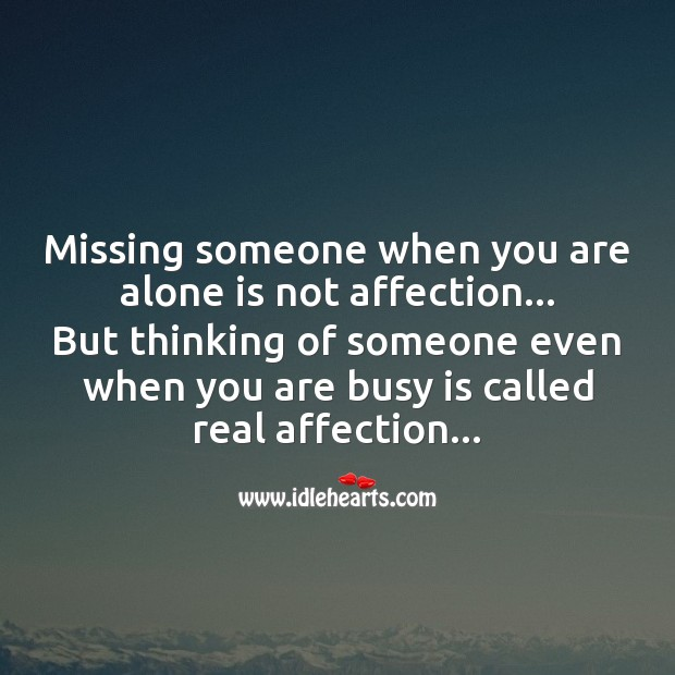 Missing someone Love Messages Image