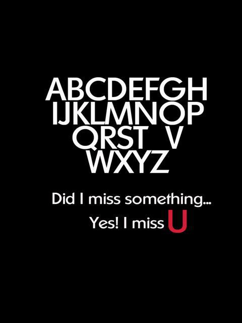 Miss You…