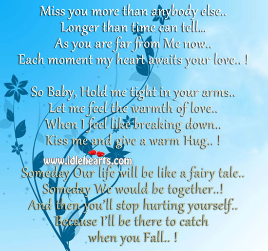 Missing you badly my love quotes