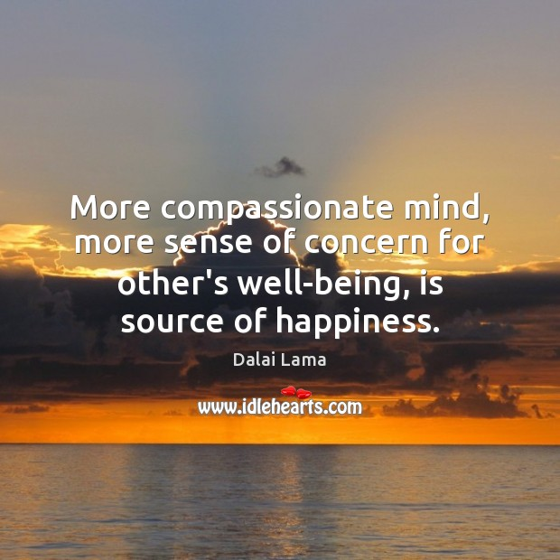 Image, More compassionate mind, more sense of concern for other's well-being, is source