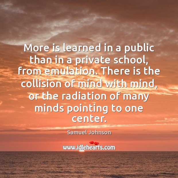 Image, More is learned in a public than in a private school, from