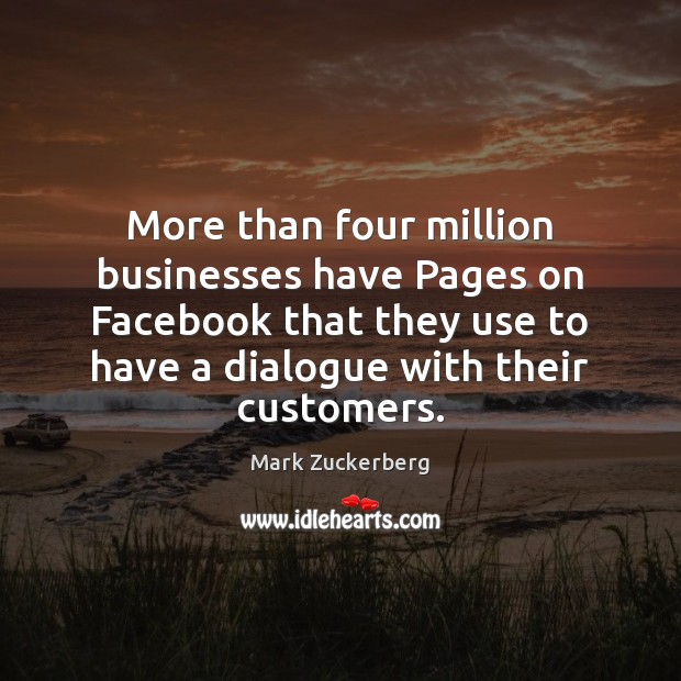 Image, More than four million businesses have Pages on Facebook that they use