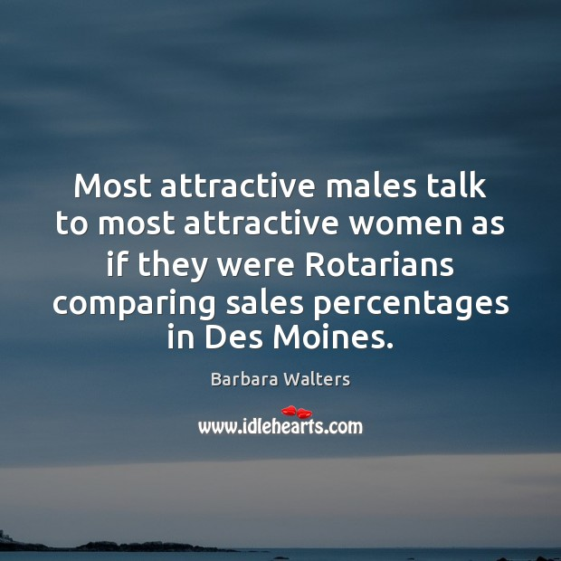 Image, Most attractive males talk to most attractive women as if they were