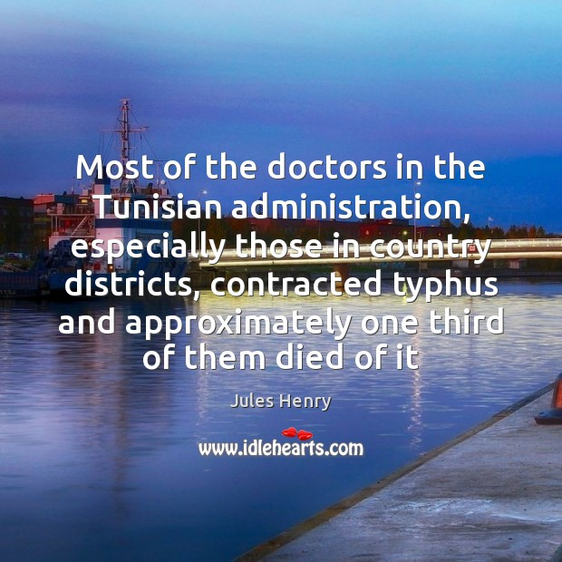 Image, Most of the doctors in the Tunisian administration, especially those in country