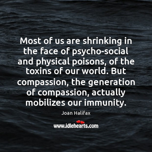 Image, Most of us are shrinking in the face of psycho-social and physical