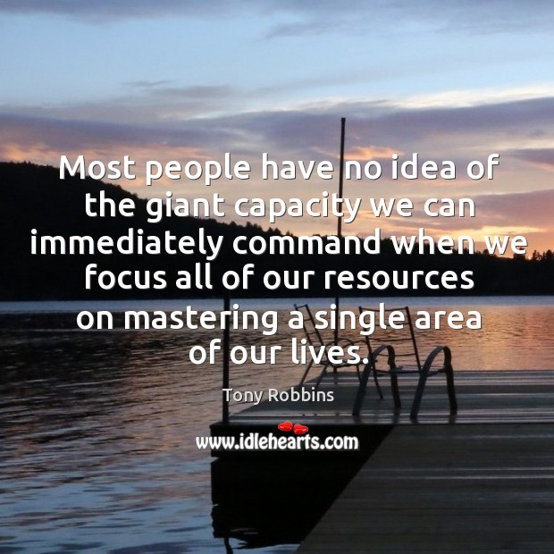 Most people have no idea of the giant capacity we can immediately Image