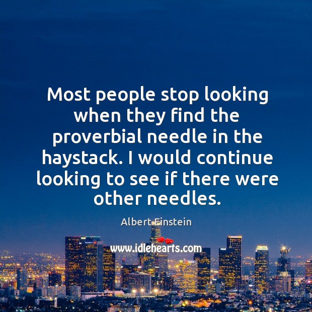 google search needle in the haystack essay 2 the needles-in-haystack-problem failure is the known needle, and the vectors of the remaining fleet constitute the haystack the vectors of the helicopters that.